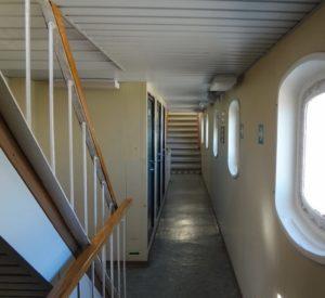 Внутренние помещения судна