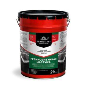 Резинобитумная мастика Петромаст